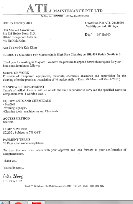 Quotation cover letter cover letter employment agreement template letter sending price quotation hashdoc request for quote cover altavistaventures Images
