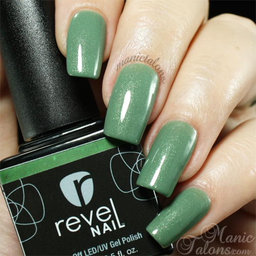 Revel Nail Gel Polish Blarney swatch