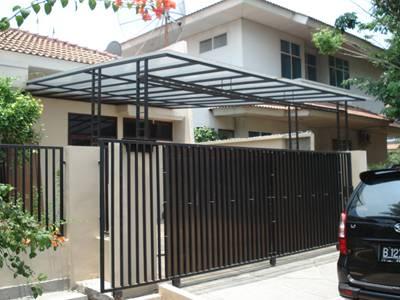 desain pagar minimalis rumah sederhana design rumah