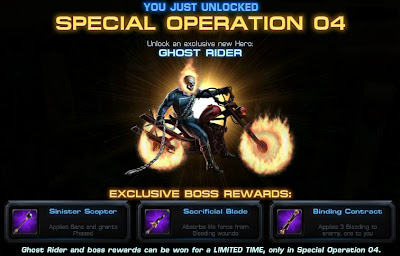 Ghost Rider joins Marvel: Avengers Alliance