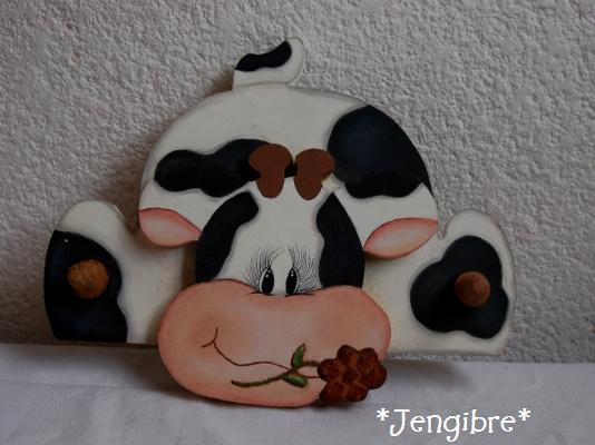 Vacas para decorar la cocina - Imagui