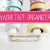 DIY Washi Tape Organizer