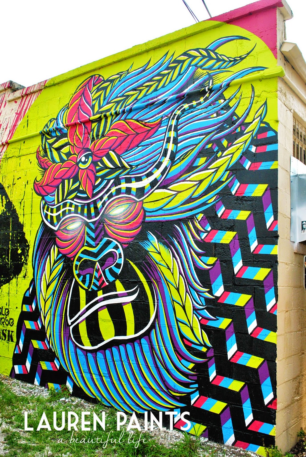 Downtown St Petersburg Florida street art