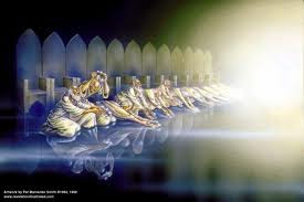 I dream of the day when I am in Heaven's throne room where I will see the 24 elders cast their crowns