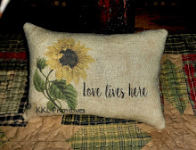 LOVE LIVES HERE PILLOW TUCK
