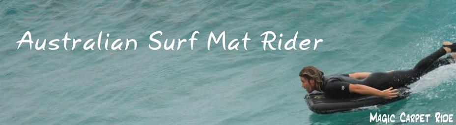 Australian Surf Mat Rider