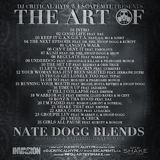 critical hype escapemtl the art of nate dogg blends back