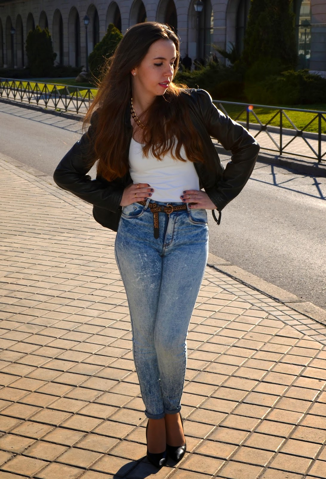hey vicky hey, victoria suarez, sunny days, blogger, fashion, bershka, tie dye, madrid