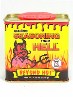 Habanero Seasoning from Hell