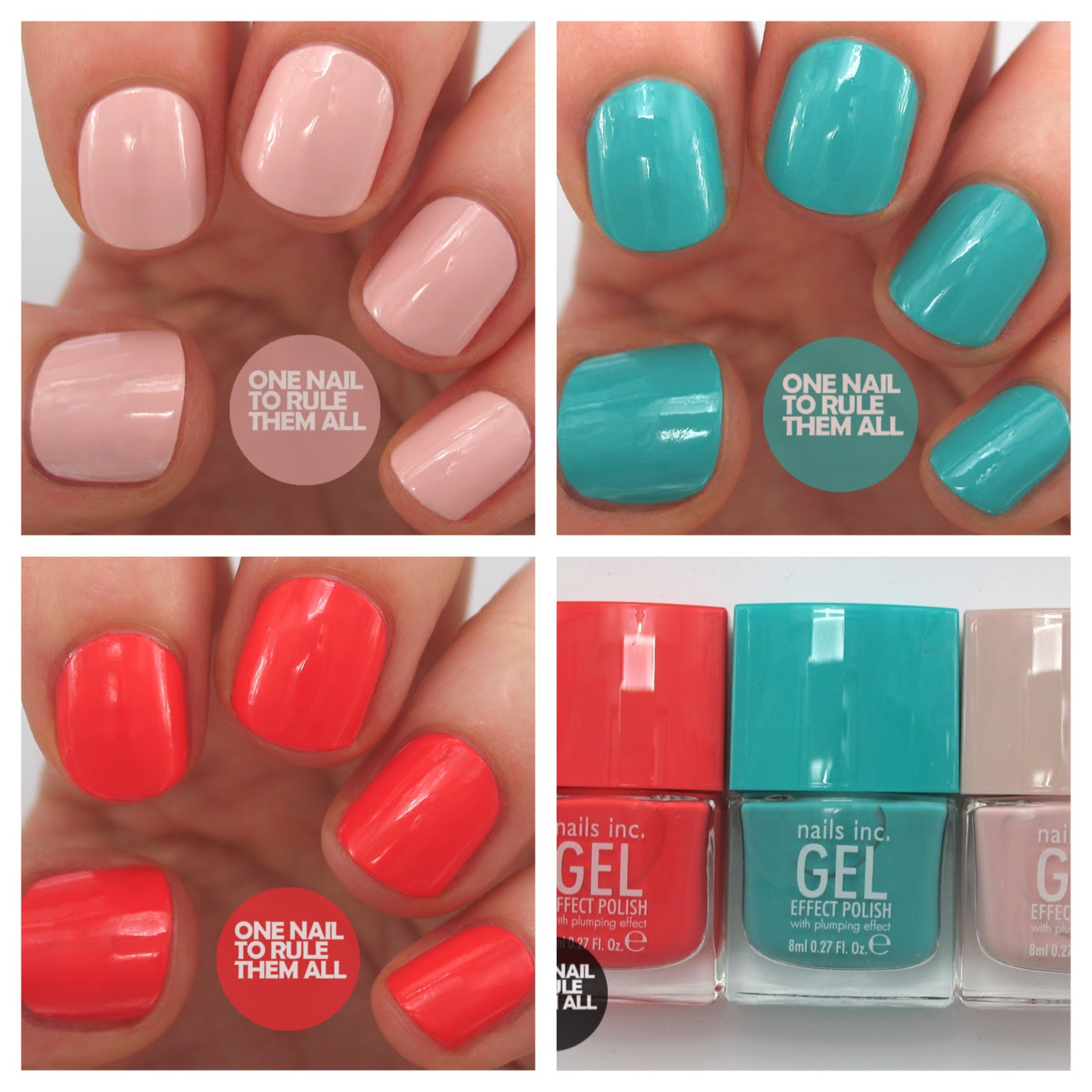 One Nail To Rule Them All: Review Week, Day Three: Nails Inc. Gel