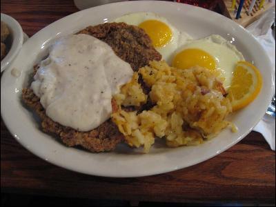 Cracker Barrel Copycat Recipes Grandpa S Country Fried Breakfast