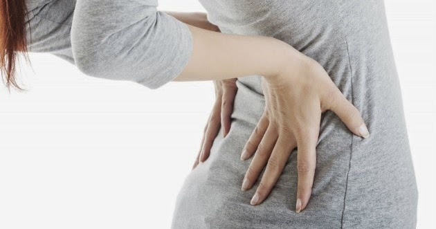 El dolor en la espalda enmudecen los dedos de las manos