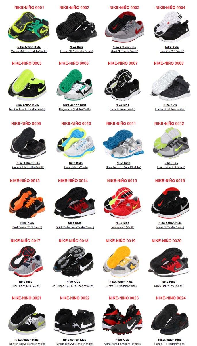 zapatos nike y sus precios