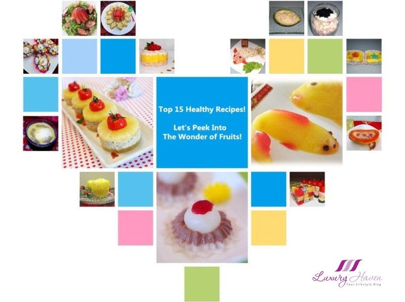 top 15 healthy recipes wonder of fruits