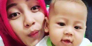 dr Rica Tri Handayani (28) dan anaknya yang masih balita Zafran Alif Wicaksono dilaporkan hilang