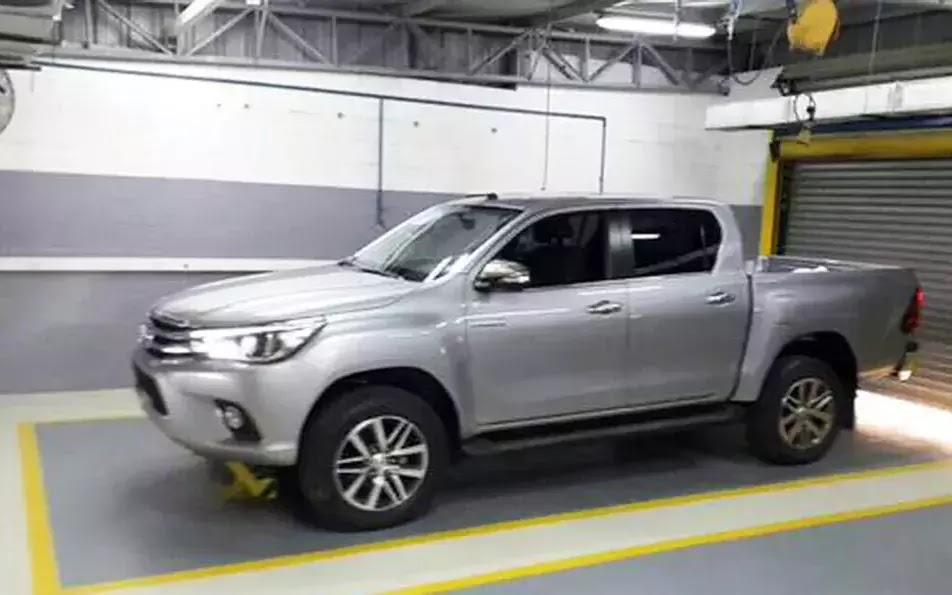 Nova Toyota Hilux 2016