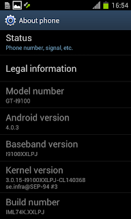I9100XXLPJ Galaxy S II Ice Cream Sandwich 4.0.3 SS9