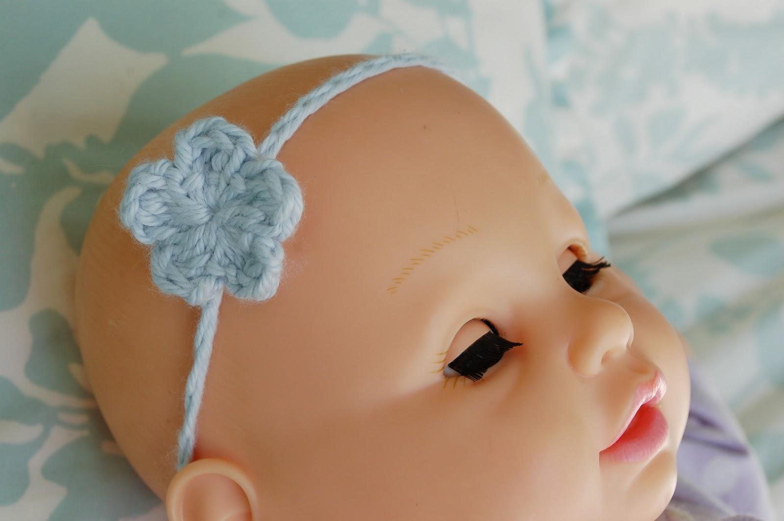 Alli Crafts: Free Pattern: Baby Headband - Stretchy