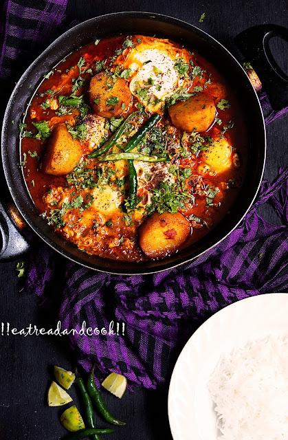 bengali style Janto Dimer Dalna recipe