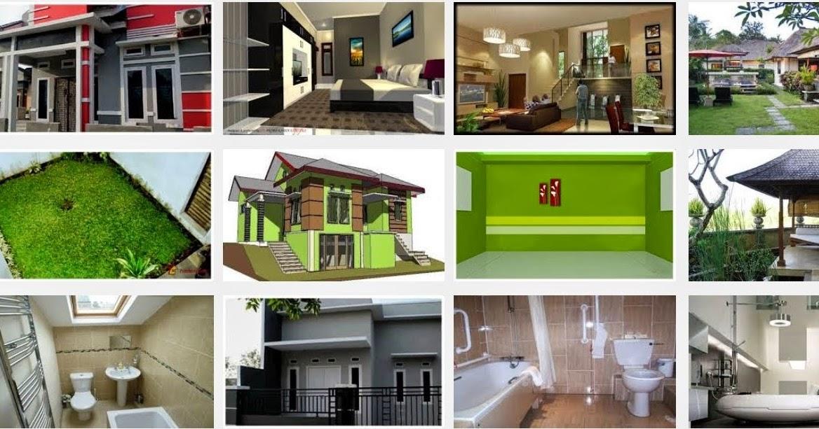 desain rumah sederhana pedesaan kampung type 45 minimalis
