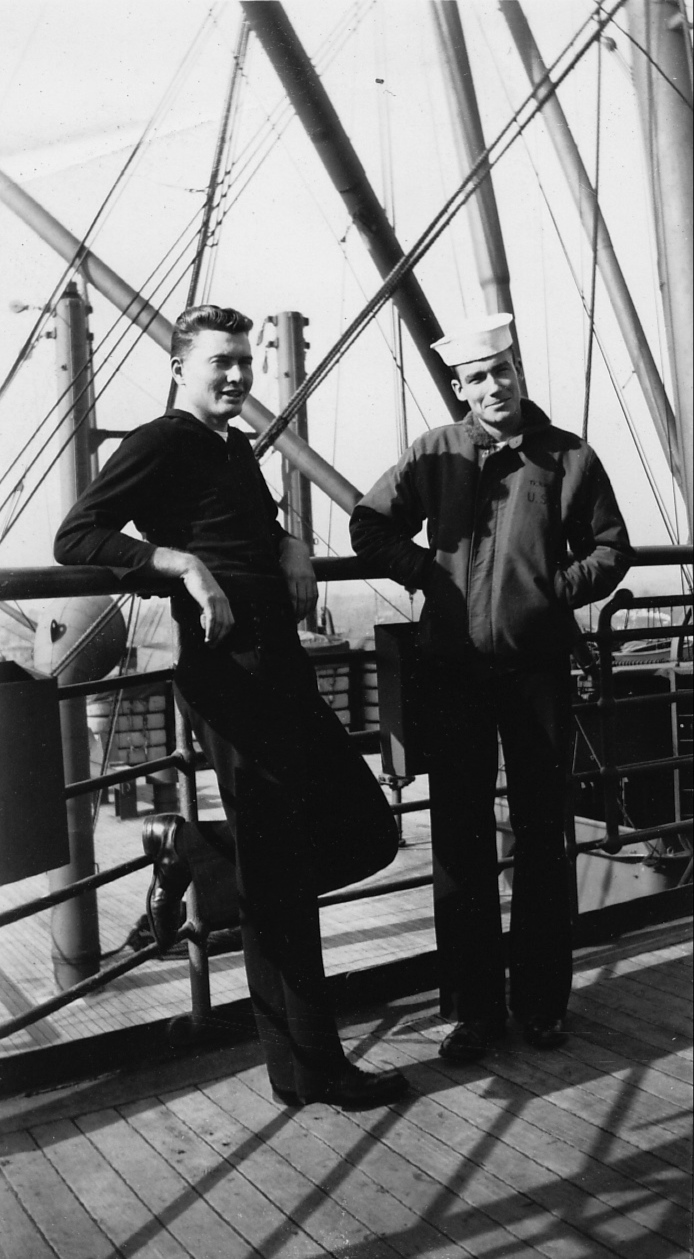 World War II Navy sailors