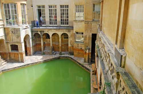 Roman Baths, Bath, England, UK