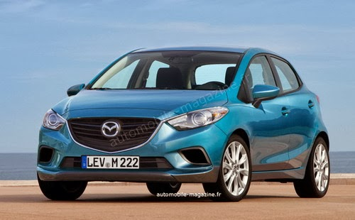 All New Mazda2 Versi Automobile Magazine France