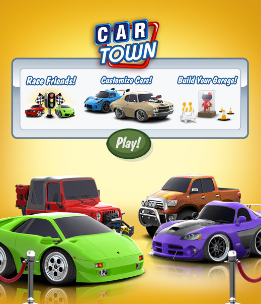 Car Town Is A Facebook Developed By Cie Start Your Own Repair And Make It Profitable Hiring Friends To Help Maintain Customer S Cars