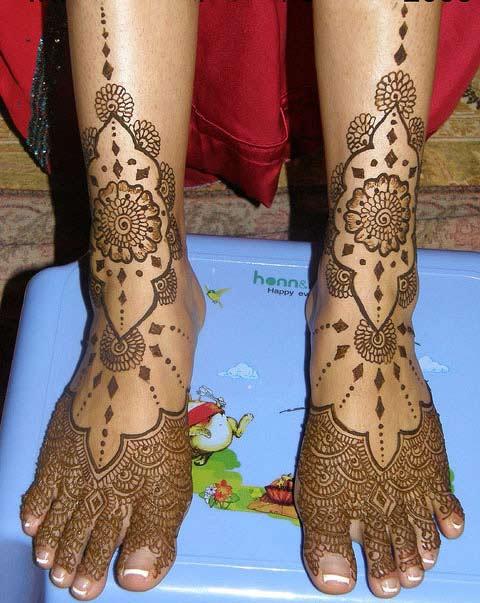 Mehndi Designs For Legs Easy : Mehndi designs for legs blondelacquer