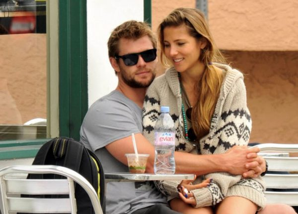 Chris Hemsworth With His Wife Elsa Pataky Images/Photos