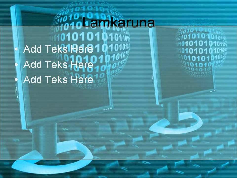 Template Powerpoint Background Teknologi - Deqwan1 Blog