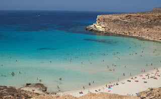 Rabbit Beach has been described as among the best beaches in the world for the quality of its sand and its clear water.