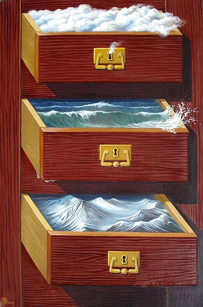 Gennady Privedentsev | Surrealist still-life painter