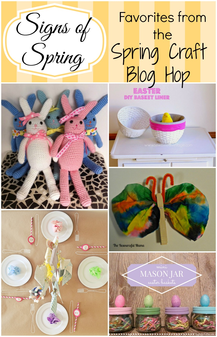 Favorites from the Spring Craft Blog Hop, week 3