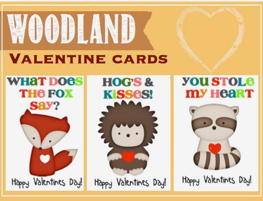 Creative try als woodland valentine cards for Creative valentine day cards