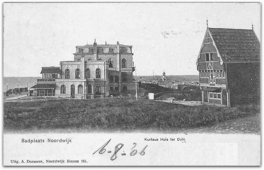Noordwijkse huizen blijven plakken bij het huis ter duin - Scherm huis ...