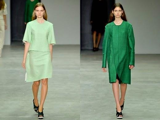Frühjahr/Sommer Kollektion 2014 von Calvin Klein