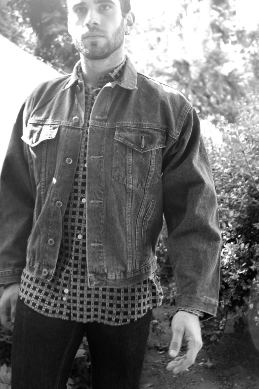 chaqueta vaquera hipster