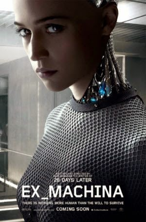 Ex Machina: Theatrical Poster