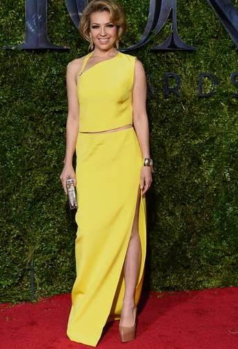 69 Edição dos Tony awards - Thalia em kaufmanfranco na carpete vermelha