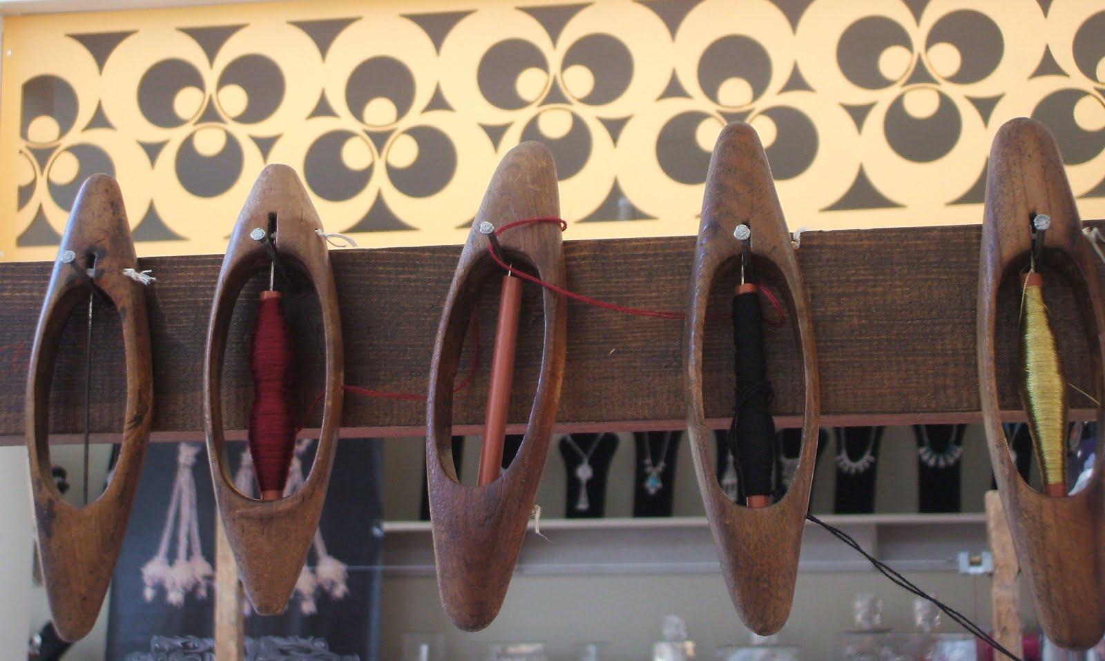 Weaving Spools