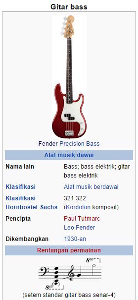 cara menyetem bass