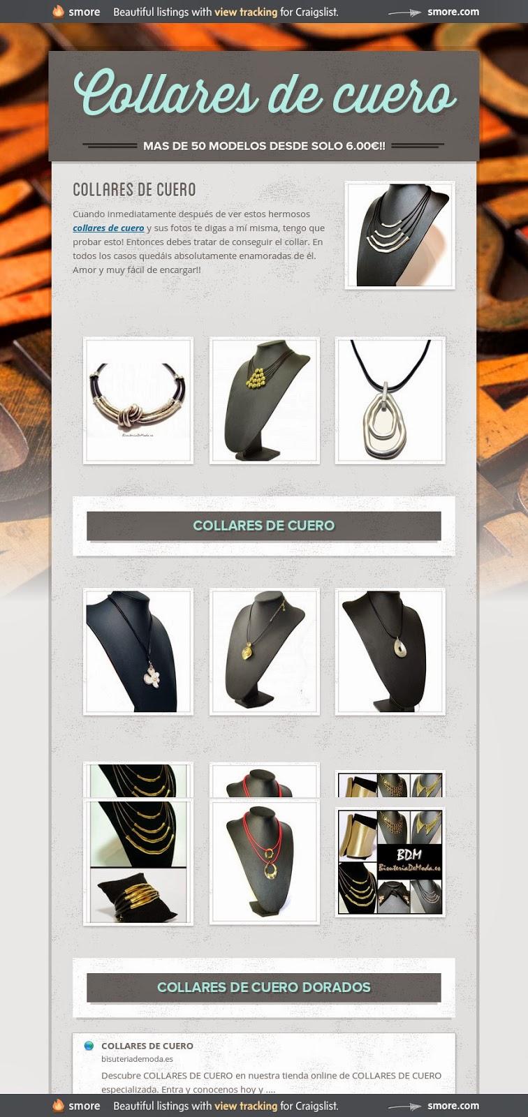 Collares de mujer - BDM - Collares online BARATOS, Collares MUY Originales