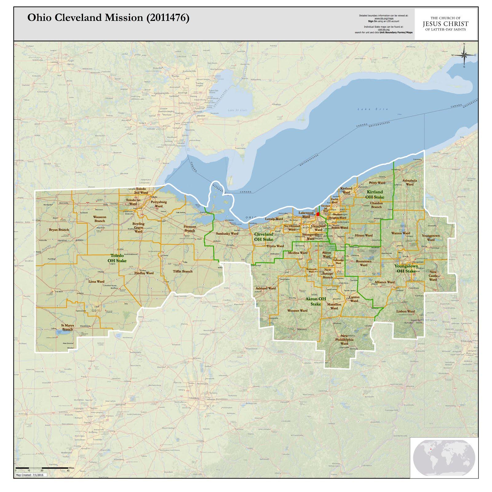 Ohio Cleveland Mission