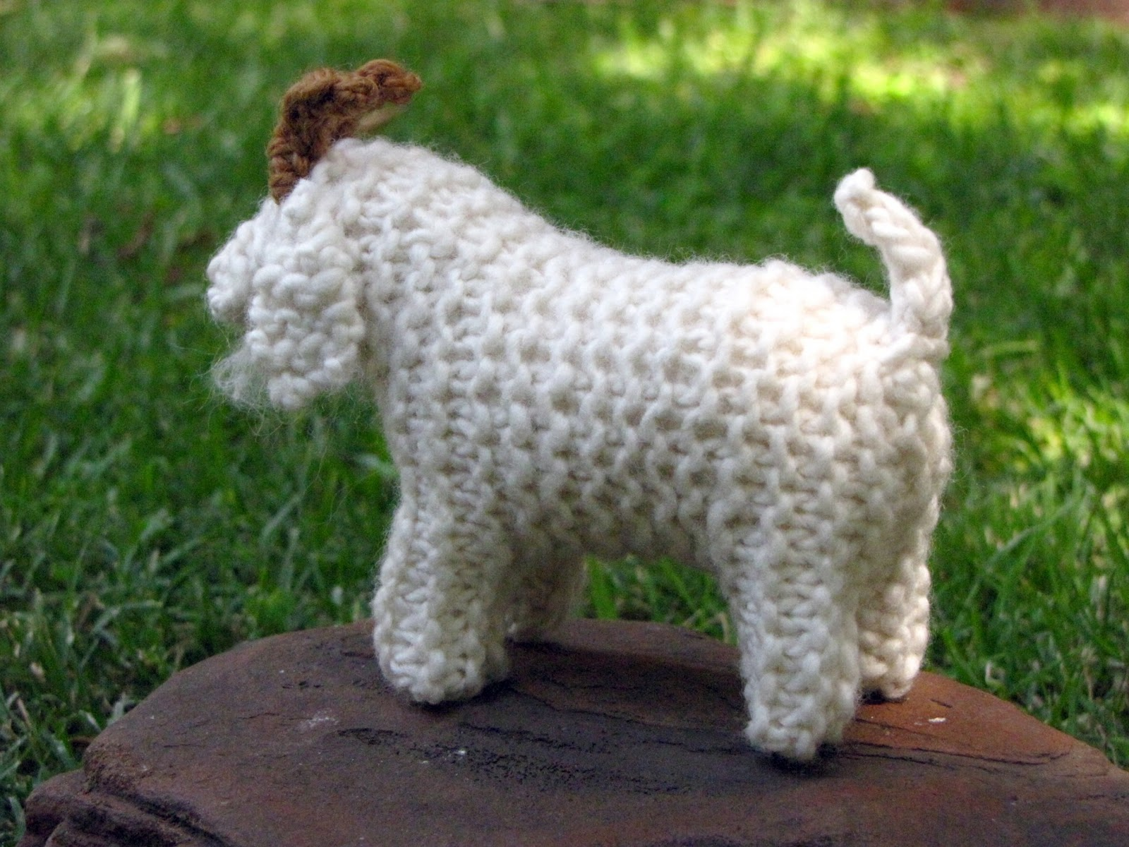 Knitted Goat Pattern and Toy! - Natural Suburbia