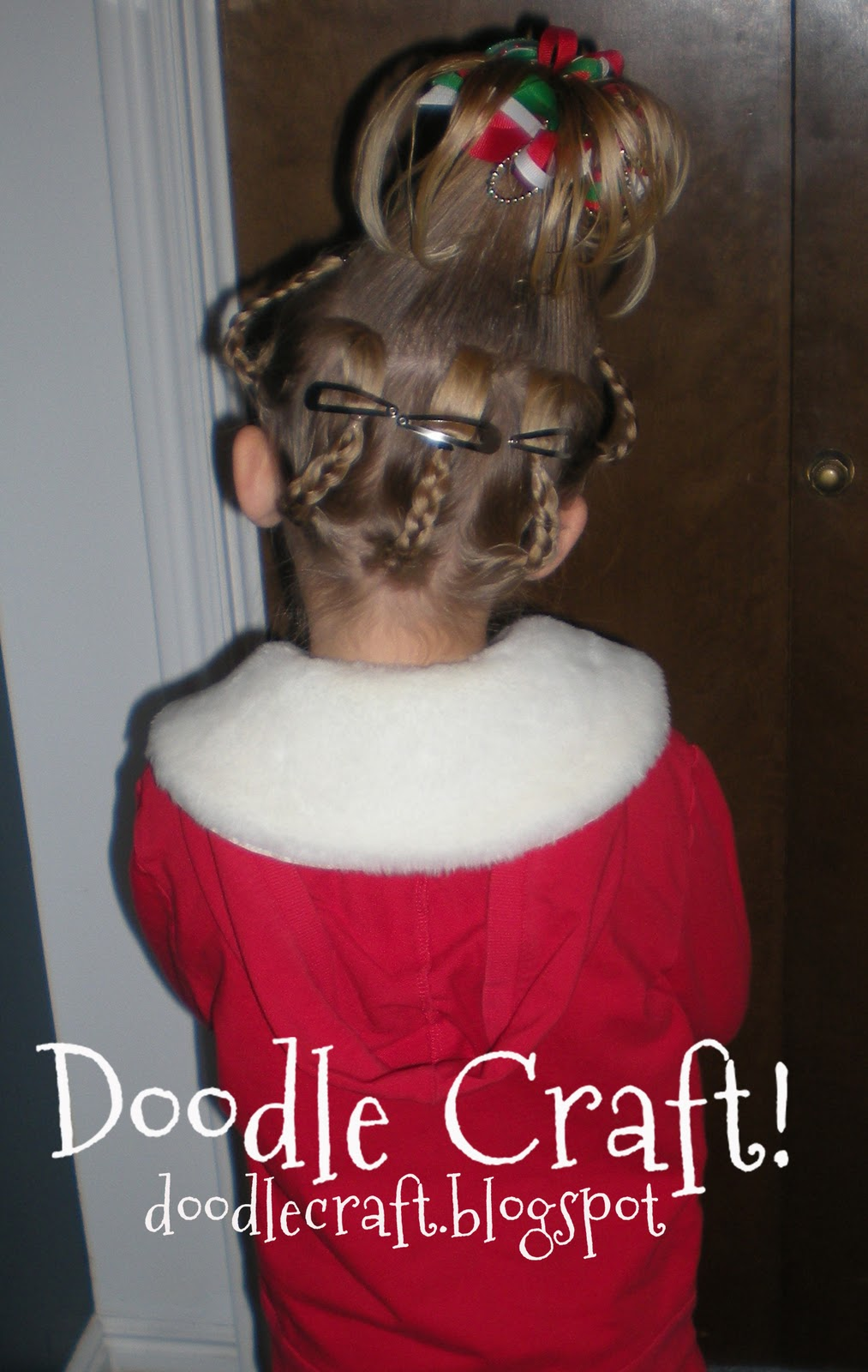 Doodlecraft: Cindy Lou Who...hairdo!
