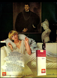 anúncio de cigarros Du Maurier de 1976; propaganda anos 70; história decada de 70; reclame anos 70; propaganda cigarros anos 70; Brazil in the 70s; Oswaldo Hernandez;