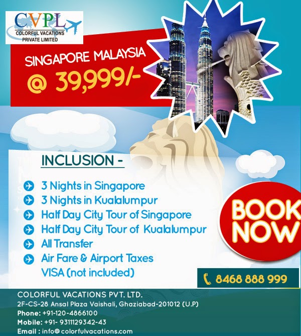Singapore Malaysia 39999 All Inclusive