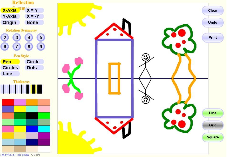 Παιδιά παίξτε με τη συμμετρία!