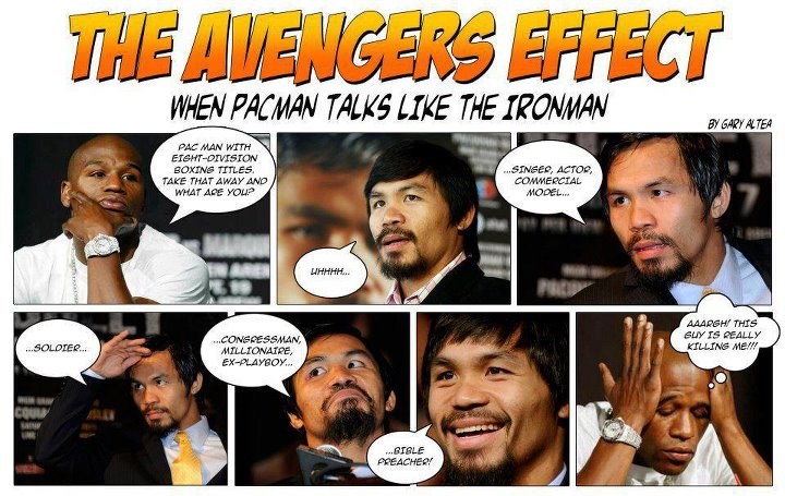 Manny Pacquiao: The Iron Man Effect